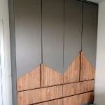 Шкаф с фасадами из ДСП
