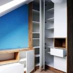 Мебель для детской на мансардном этаже