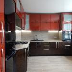 Кухня с фасадами из пластика